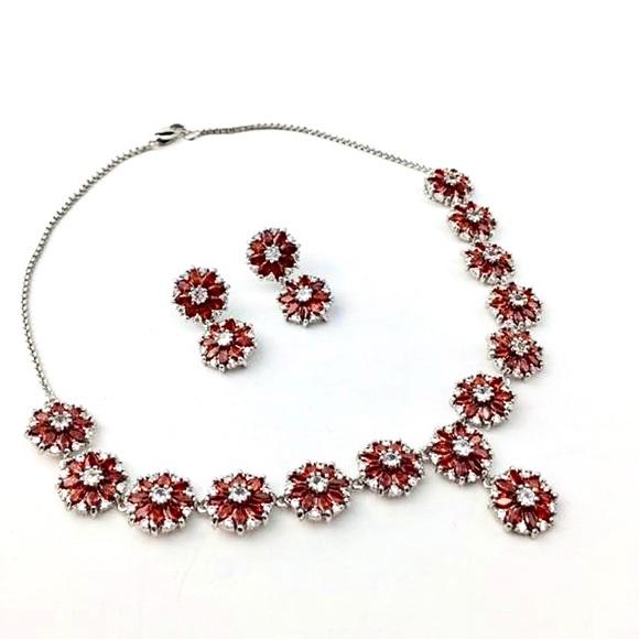 Bridal cz jewelry set